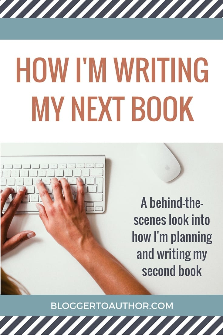 How I'm writing my next book: a behind-the-scenes look at how I'm planning and writing my second book.