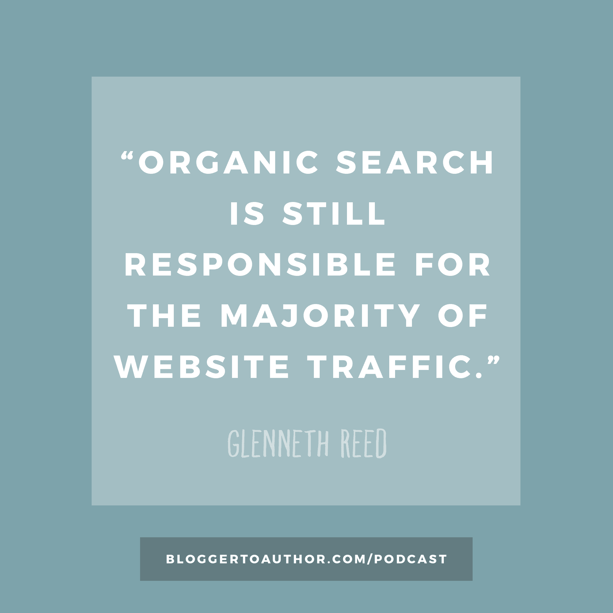 Blogger to Author Podcast Episode 32 - Search Engine Optimization for Authors with Glenneth Reed